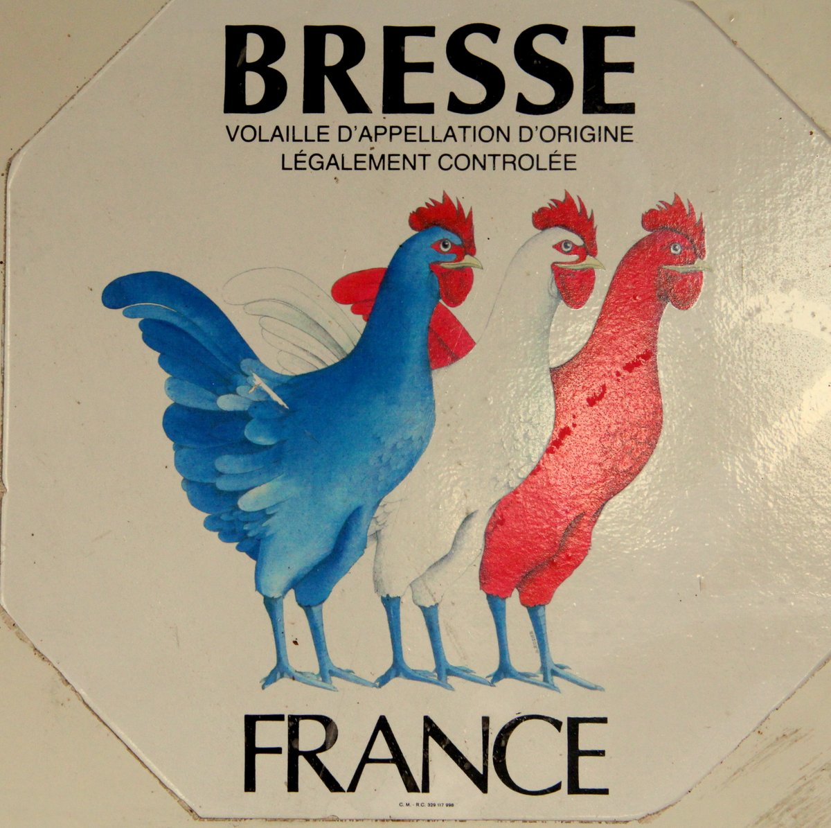 The house of the Bresse chicken